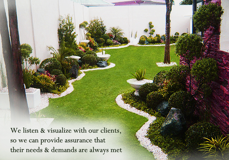 Green world builders inc philippines landscaping for Garden design ideas in philippines