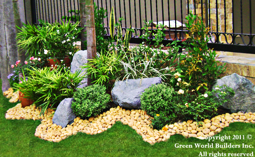Green world builders inc landscaping philippines for Pocket garden designs philippines