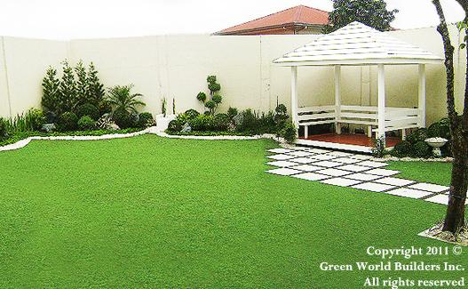 Philippines Garden Design Green World Builders Inc