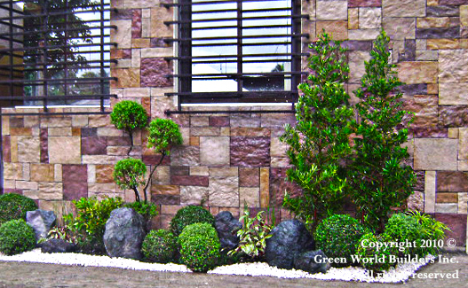 Landscaping services by green world builders inc philippines for Garden design ideas in philippines