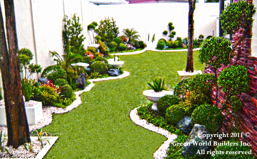 Philippines garden design green world builders inc for Pocket garden designs philippines