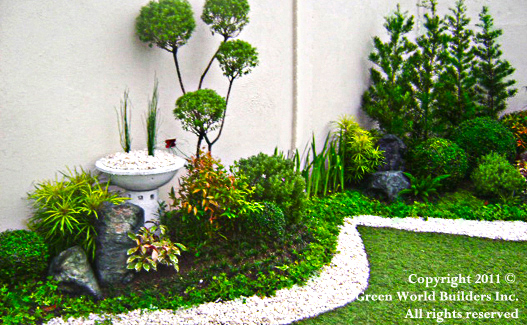 Landscaping garden portfolio green world builders inc for Pocket garden designs philippines