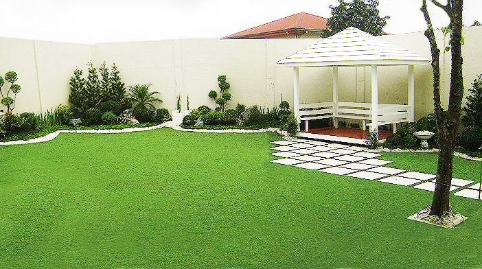 Green world builders inc landscaping philippines for Home garden design in the philippines