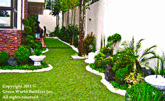 Philippines garden design green world builders inc for Garden design ideas in philippines